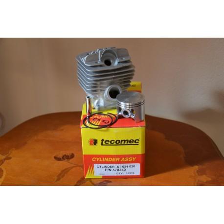Cylinder kompletny STIHL 034/036 TECOMEC