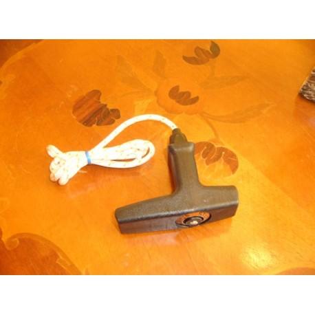 Uchwyt rozrusznika z linką elastostart - typu Stihl. Linka 4,5 mm